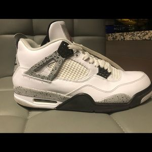 NIKE AIR JORDAN IV 4 CEMENT GREY SIZE 11